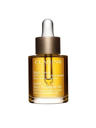 Clarins Lotus Face Treatment Oil Transparent