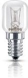 Philips E14, glödlampa, T25-form, dimbar, 15W, 230