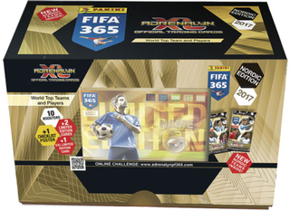 Fotbollskort fifa 365 2016-17 giftbox