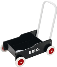 BRIO Lære-gå-vogn Svart