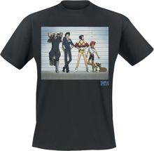 Cowboy Bebop - Police Line-Up -T-skjorte - svart