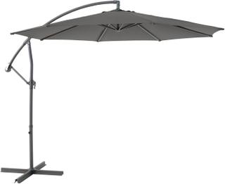 Rivoli parasoll Antracit/grå 3 m
