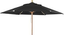 Reggio parasoll Svart 3 m