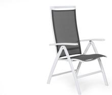 Sunny positionsstol Vit/grå