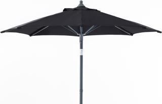 Malta parasoll Antracit/svart 2 m