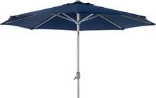 Andria parasoll Silver/blå 3 m