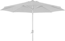 Andria parasoll Vit/vit 3 m