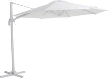 Linz parasoll Vit/vit 3 m