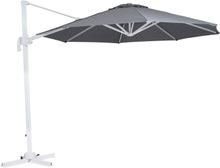 Linz parasoll Vit/grå 3 m