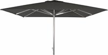 Arezzo parasoll Silver/svart 3x3 m