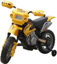 vidaXL Elmotorcykel för barn Powersports gulsvart