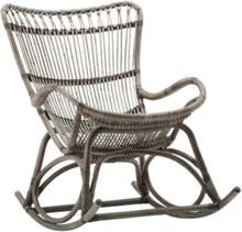 Gungstol Monet rotting grå, Sika-Design
