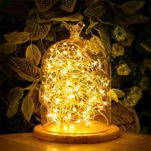 Valonauha / Led-nauha 10metriä - 100 kpl lämpimän valkoista lamppua