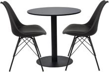 Mattgrup - Troy runt bord + 2 Comfort stolar