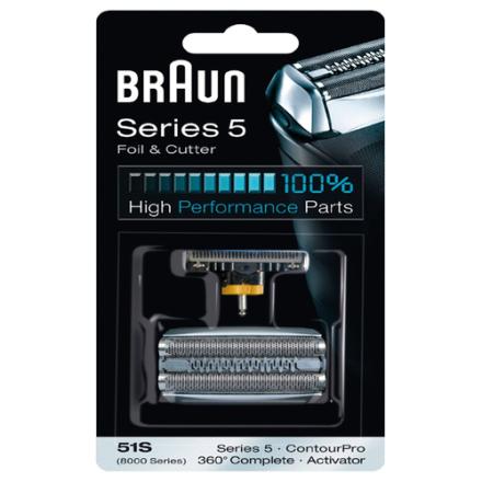 Braun 51s. 10 stk. på lager