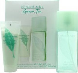 Elizabeth Arden Green Tea Presentbox 100ml EDP + 100ml Body Lotion