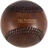 John Woodbridges Baseboll Boll Mörkbrun Läder
