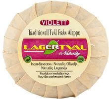 Aleppotvål med doft - 4% lagerbärsolja, ca. 100 g, Viol