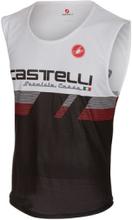 Castelli ALII Run Top Singlet Svart/Vit