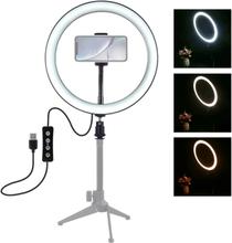 LED Rengasvalo Selfie- ja Valokuvaukseen