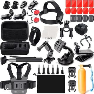 eStore GoPro Sæt med tilbehør og taske