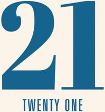 Kort födelsedag 21 år