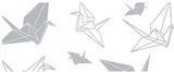 Fönsterfilm - origami 100cm x 33cm