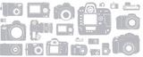 Fönsterfilm - kamera 100cm x 33cm