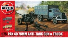 Airfix PAK 40 75mm Anti-Tank Gun & Truck 1:76