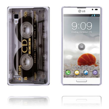 Cassette (transparent) lg optimus l9 skal