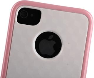 Cubus vit - dual compound (ljusrosa) iphone 4/4s kombination...
