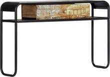 vidaXL Konsolipöytä 118x30x75 cm kierrätetty puu