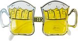 Folat Öl glas öl skämt glasögon Solglasögon Glasög