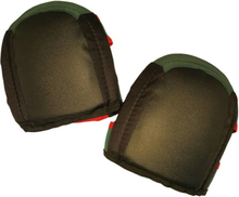 Toolpack Knäskydd Pro Coal svart och grön