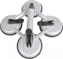 ProPlus Vakuumlyftare med 4 sugplattor aluminium silver