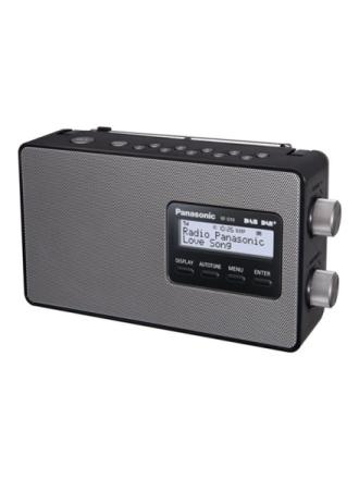 DAB bærbar radio RF-D10EG-K - DAB/DAB+/FM - Mono - Sort