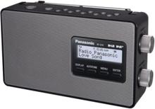 Bærbar radio RF-D10EG-K - DAB/DAB+/FM - Mono - Sort