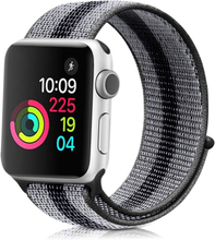 Apple Watch Series 4 44mm vanntett nylon watch band - Svart