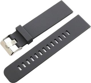 Samsung Gear S2 Classic / Gear Sport / Galaxy Watch 42mm 20mm silicone watch band - Grey