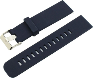 Samsung Gear S2 Classic / Gear Sport / Galaxy Watch 42mm 20mm silikon watch band - Dark Blue