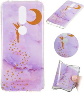 Marble Nokia 7.1 case - Pixie Moon Pattern