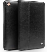 QIALINO iPad Mini (2019) genuine leather case - Black