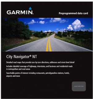 Garmin Storbritannia og Irland Garmin City Navigator® Europe NT - Spanien + Portugal Garmin City Navigator® Europe NT - MICROSD™/SD™ CARD