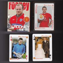 Fotbollsspelare wayne rooney kortspel, 54 olika rooneys bilder
