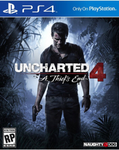 Uncharted 4: A Thief's End - PlayStation 4 - Action/Adventure