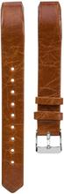 Fitbit Alta klokkereim laget av ekte lær - Lys brun