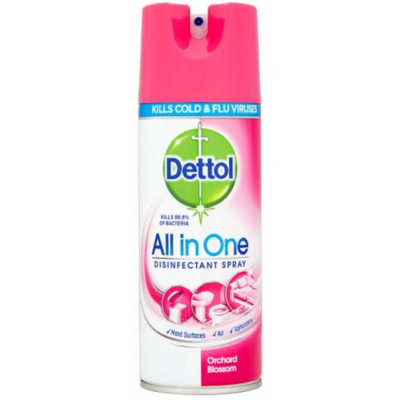 Dettol All in One Disinfectant Spray Blossom 400 ml