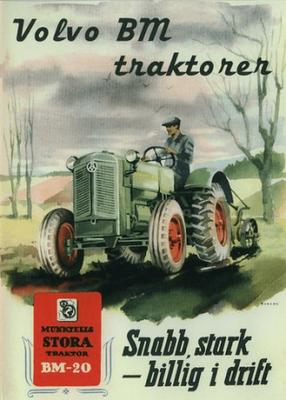 Volvo bm traktorer (och tröskor) (dvd)