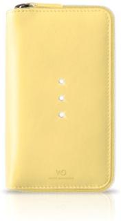 White diamonds crystal purse iphone 6 / 6s - gul