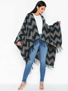 NLY Accessories Boho Poncho